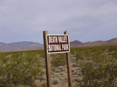 Death valley Jeep Trip 2009