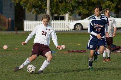 Clinton Varsity Soccer 10/17/09