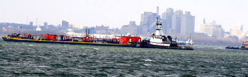Ships in the NYC Harbour