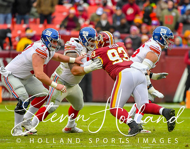 Football NFL - Redskins vs Giants 12.09.2018 (by Steven Holland)