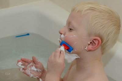 2012-12-25 Will 'shaving'