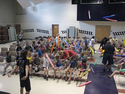 Bradford community VBS, Bradford OH, July 2012