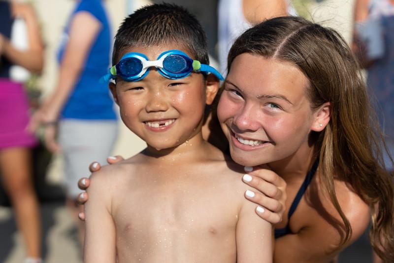 CV swim vs Radley Run 2021