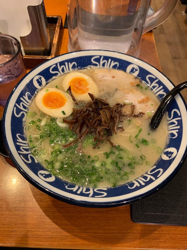 My Ramen at Shin Shin Ramen Hakata Fukuoka