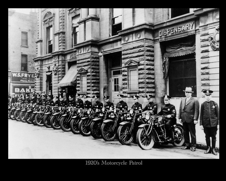 20's Motorcycle group photo copy
