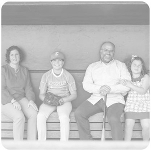 Family Candids converted to washed out black and white