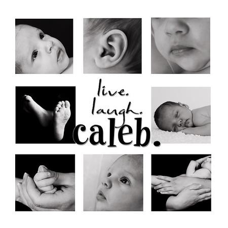 Caleb - 4 weeks