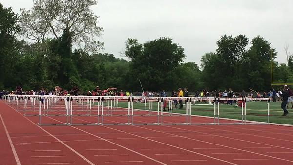Boys 110m Hurdle Finals