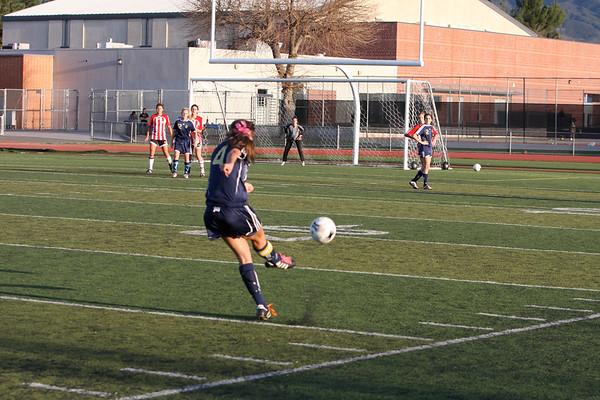 Girls soccer 1-16-2011