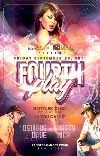 Fourth Play @ Sabor Tapas Bar & Lounge 9.23.11