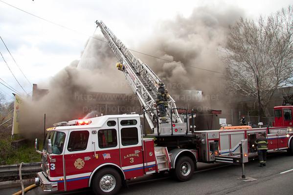 Paterson NJ 3rd Alarm 359 McLean Blvd (Rt.20) 04-11-12