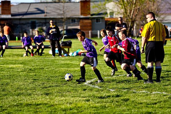 4/6/11 Riverside Twisters vs South Hills Eagles