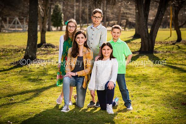 Amy Shiro family portraits