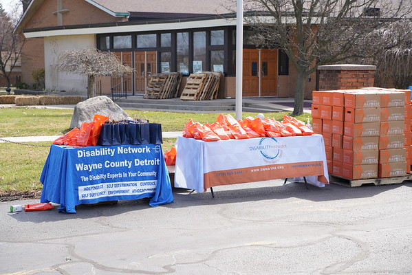 2021 Wayne County Disability Network Food Giveaway