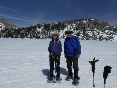 Echo Lake Snowshoe 2018