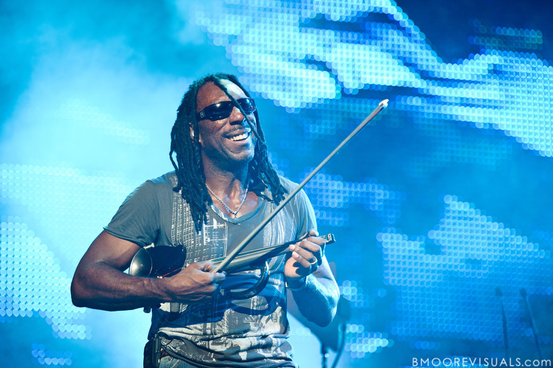 Boyd Tinsley of Dave Matthews Band performs on July 28, 2010 at 1-800-ASK-GARY Amphitheater in Tampa, Florida