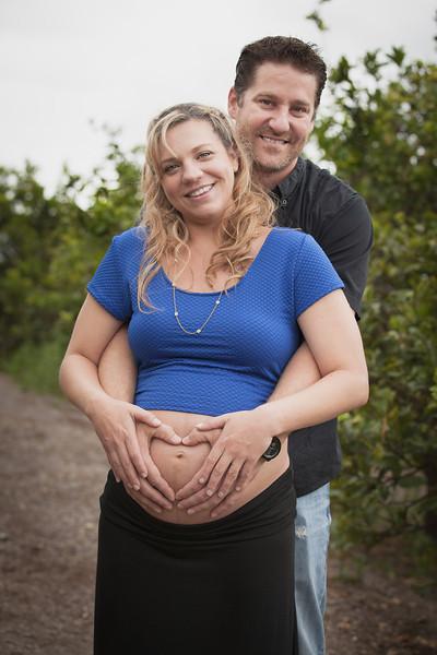 Laura and Matt Maternity