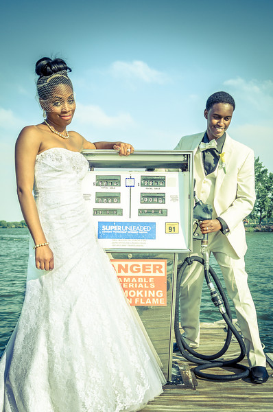 LaVasha & Yusuf | Cherry Creek Marina and Yacht Club