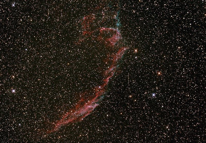 Caldwell C33 - NGC6992/6995 - IC1340 - Eastern Veil Nebula (Supernova Remnant)