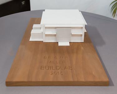 B. E. & W. R. Miller BuildLab Dedication - March 8, 2018
