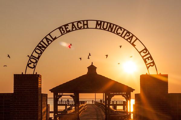 Colonial Beach Sunrise 9-24-2016