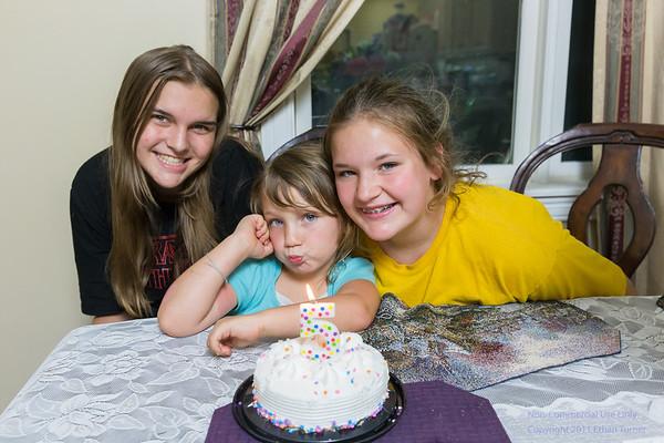 Adrianna's 5th Birthday Party