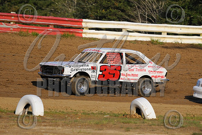 Coos Bay Speedway - Dirt Oval - April 24, 2010