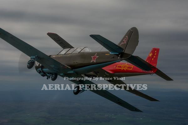 4 Ship Yak Flight - Murphy's 4/29/17 N669YK N4450Y  C-GYAC