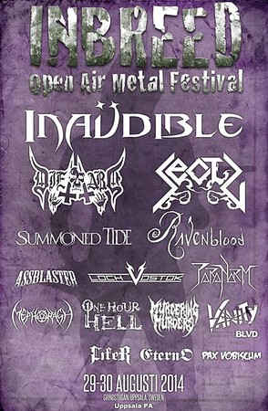 Inbreed Open Air 30/8 2014 [Uppsala]