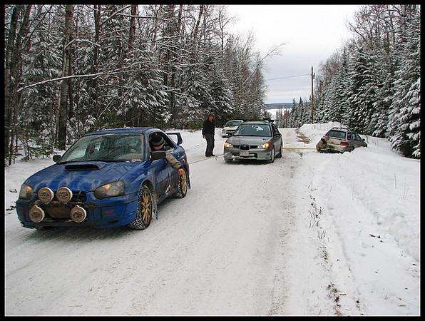my sti mnsubaru ice race