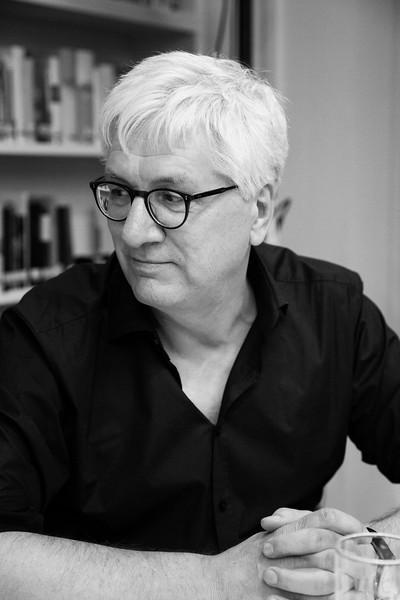 Director of the Goethe Institute in St. Petersburg Günther Hasenkamp. Saint Petersburg, 2019.