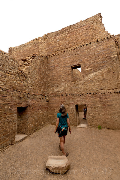 JULY, 2019: NEW MEXICO II: Finishing Up at Chaco Culture