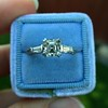 1.17ct Asscher Cut Diamond Tacori Solitaire, GIA G, VS2 16