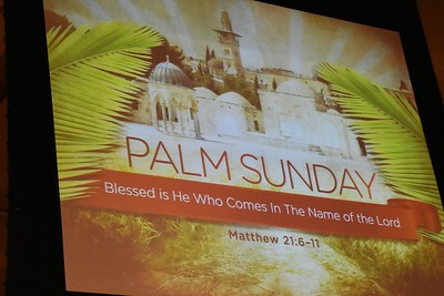 04-14-2019 Palm Sunday - 5pm mass