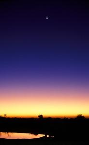 Twilight over Etosha