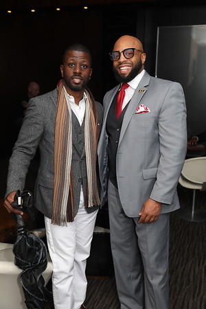 100 Black Men of Charlotte Holiday Dinner Chima December 2018