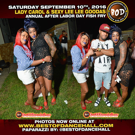 9-10-2016-QUEENS-Lady Carol And Sexy Lee Lee Goodas After Labor Day Fish Fry