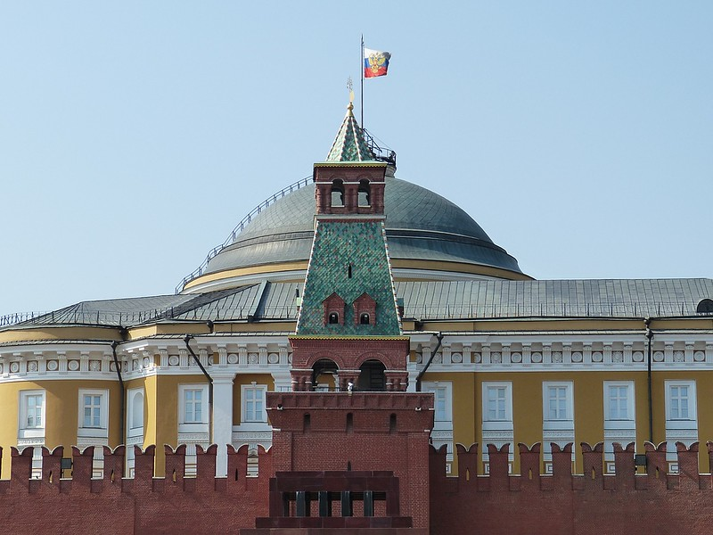 Lenin's Tomb in Moscow