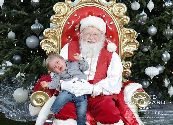 12.14.19 | Grand Blvd Santa Photos