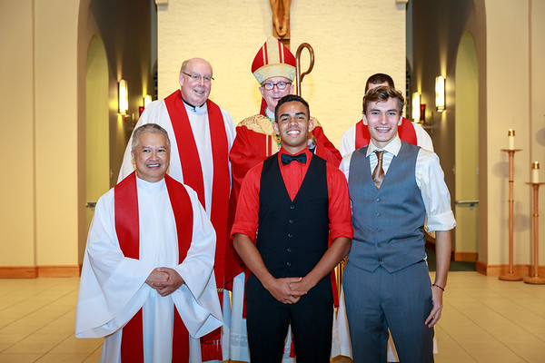 2018 Blessed Sacrament Confirmation