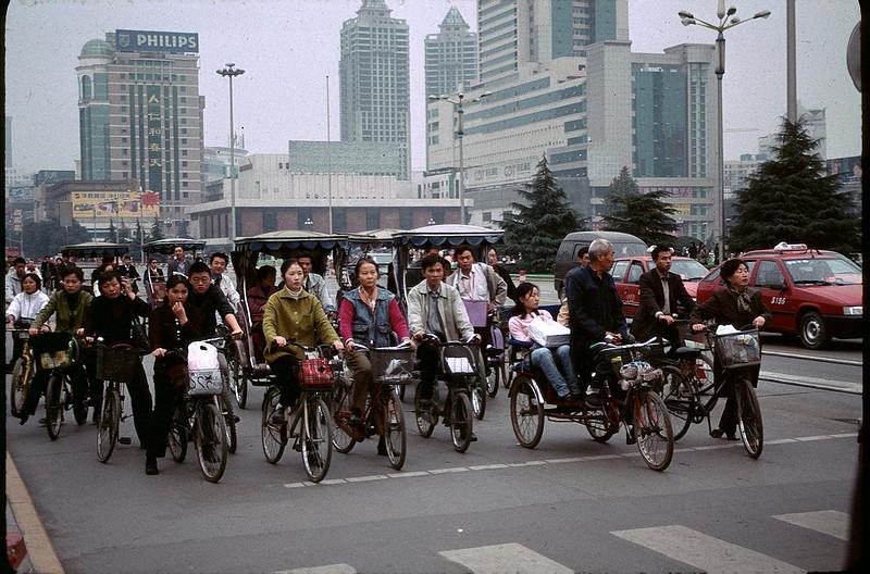 red light in Chengdu