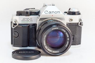 Canon AE-1 Program, 1981