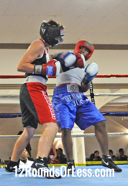 Bout 5 Daywane Roseberry, Top Notch Boxing -vs- Jake McMullen, Dungon Fight Club 154 lbs