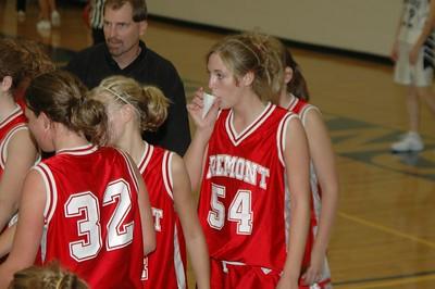 Girls Junior Varsity Basketball - 2005-2006 - 10/6/2005 vs. Fruitport JG