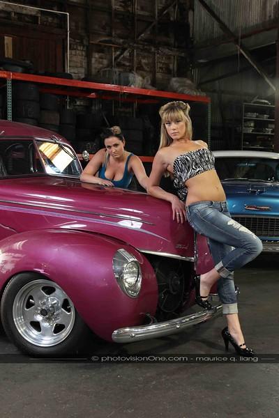 Hot Rod Garage Girls.