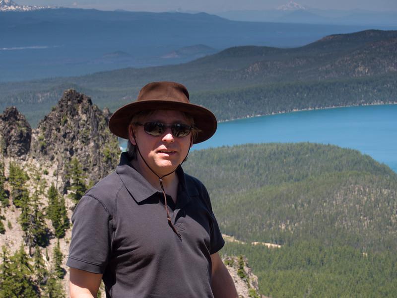 Roger at Paulina Peak