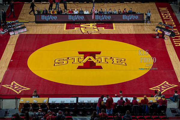 ISU Wrestling vs Central Michigan 01/31/16