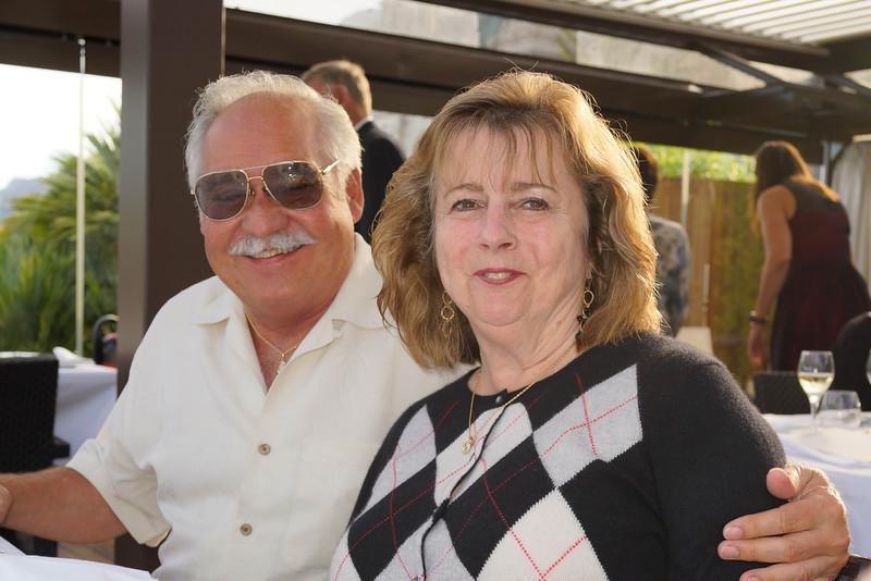 Ed Vellis and Gale Vailancourt