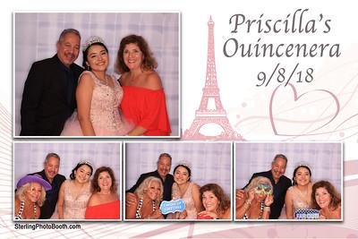 Priscilla's Quincenera