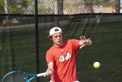 Men's Tennis V.s. UNC Asheville